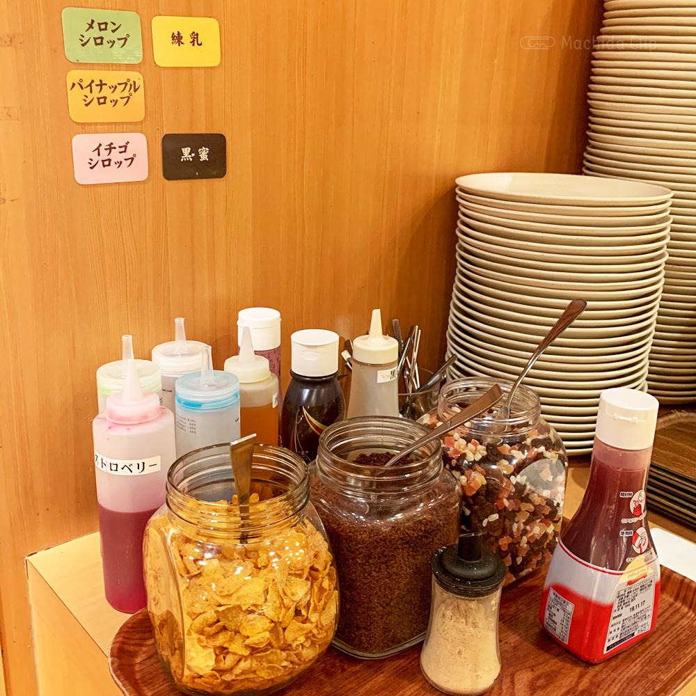 しゃぶ葉 町田店のデザートトッピングの写真