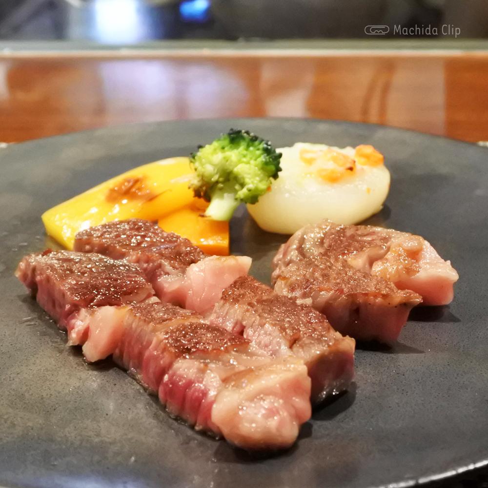 鉄板たかはし 町田で名店の総料理長を歴任したシェフによる鉄板焼き・ステーキが味わえるの写真