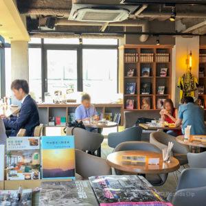 町田 武相庵(カフェ)の店内の写真