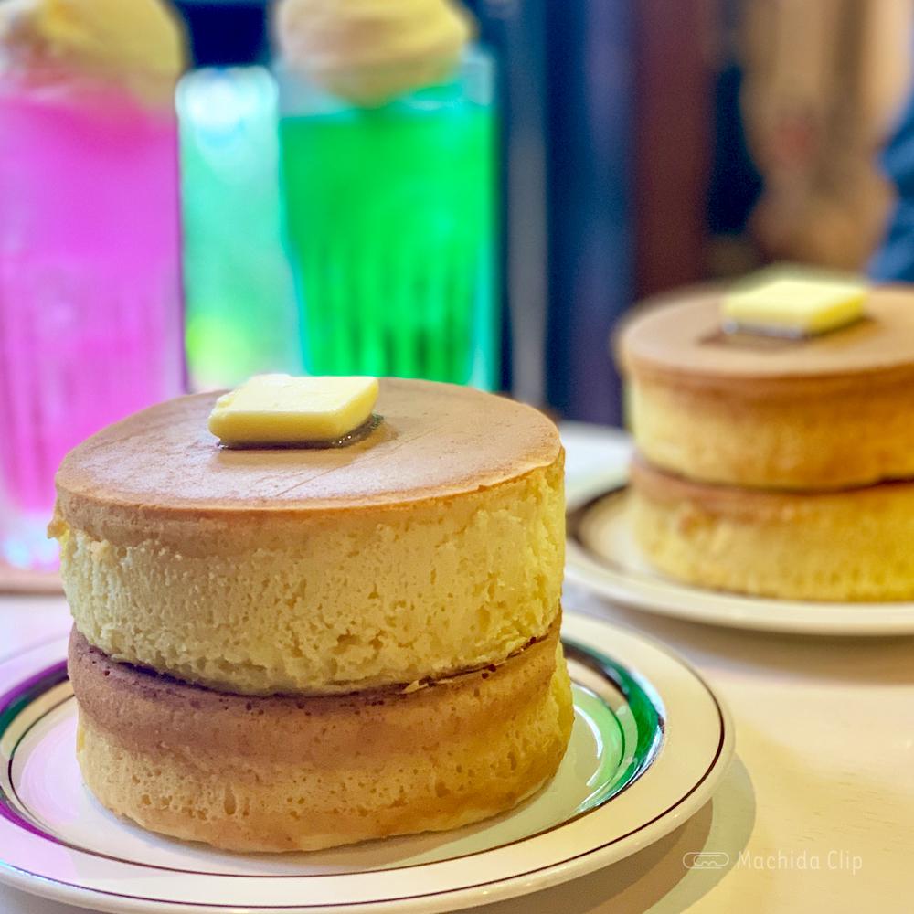 喫茶ちゃっぷのホットケーキの写真