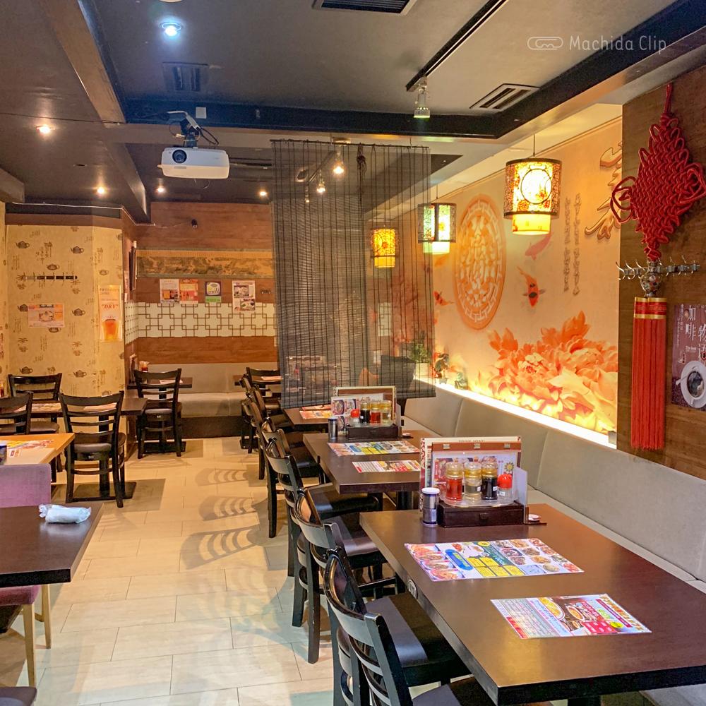 中華料理 金満園の店内の写真
