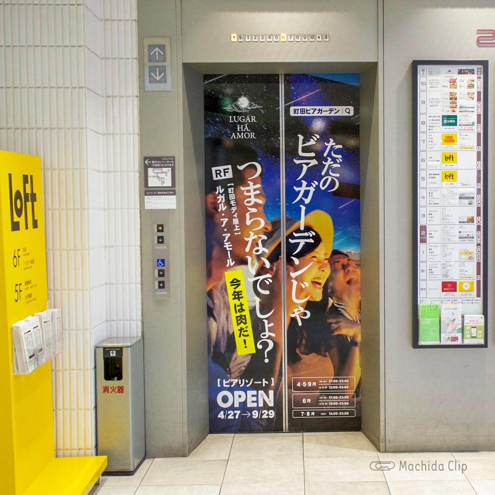 ルガル・ア・アモールのエレベーターの写真