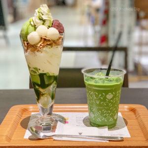 ナナズグリーンティー nana's green tea 町田モディ店4階 超BIGな和パフェが人気!シックな店内でデートにおすすめ 抹茶&日本茶カフェの写真