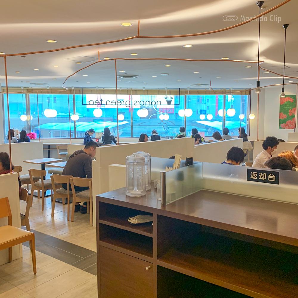 ナナズグリーンティー町田東急ツインズ店の店内の写真