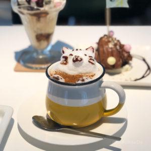 セピアカフェ SEPIA CAFE 町田 3Dラテアートが可愛すぎる!映えスイーツも充実したおしゃれカフェの写真