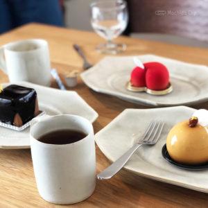パティスリー アンカド 町田 パティシエが作る映えな贅沢ケーキ 2019年2月にオープンしたおしゃれカフェ(Pâtisserie un cadeau)の写真