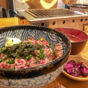焼肉 ここから 町田店のはらみレア丼の写真