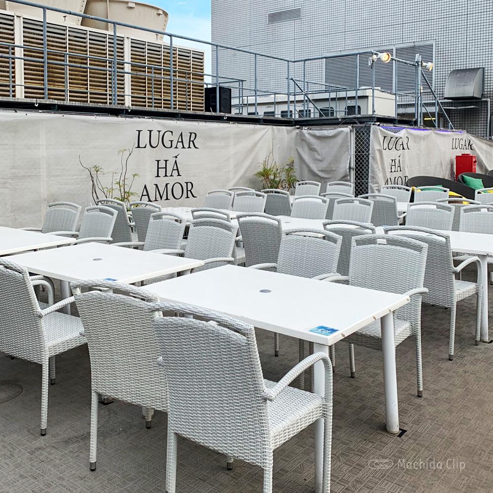 ルガル・ア・アモールのテーブル席の写真