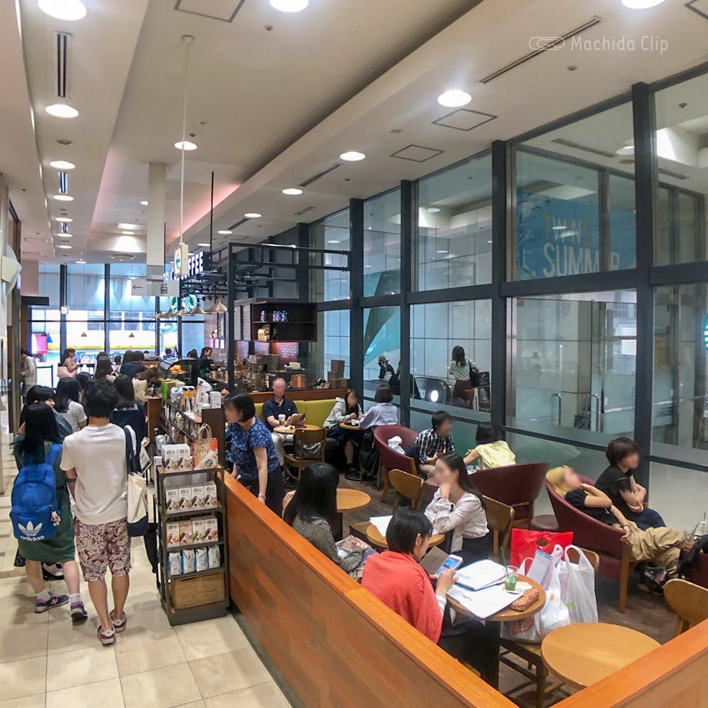 スターバックス東急ツインズ店の店内の写真