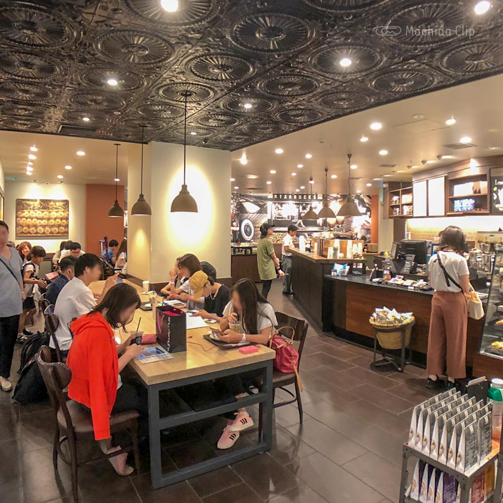 スターバックス小田急町田店の店内の写真