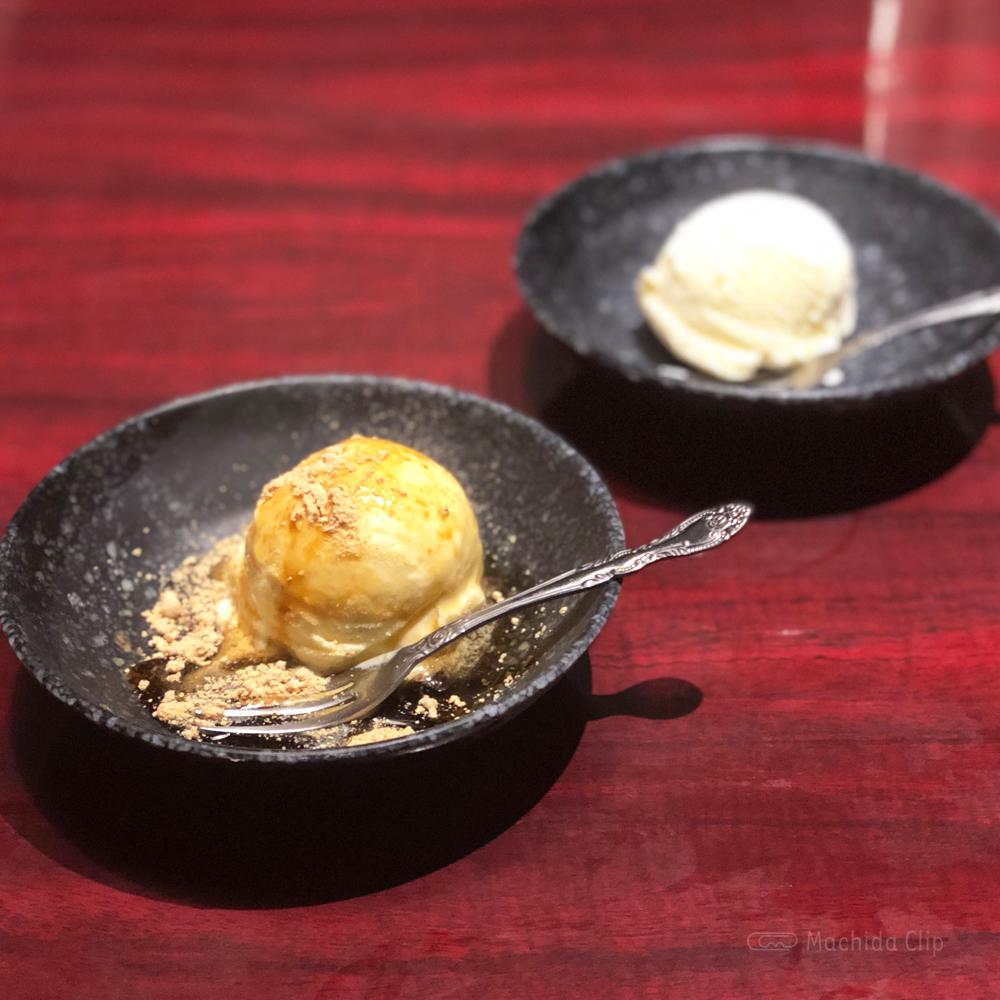 焼鳥専門店 鳥放題のデザートアイスの写真