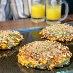 町田「わらえる」のお好み焼き食べ放題 ランチは1,450円で楽しめるの写真