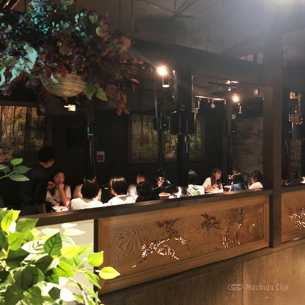 焼肉一頭両騨 町田新館の店内の写真