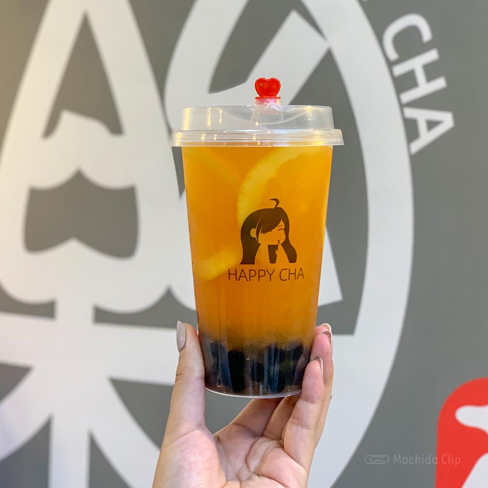 楽茶 HAPPYCHA 町田店のタピオカドリンクの写真