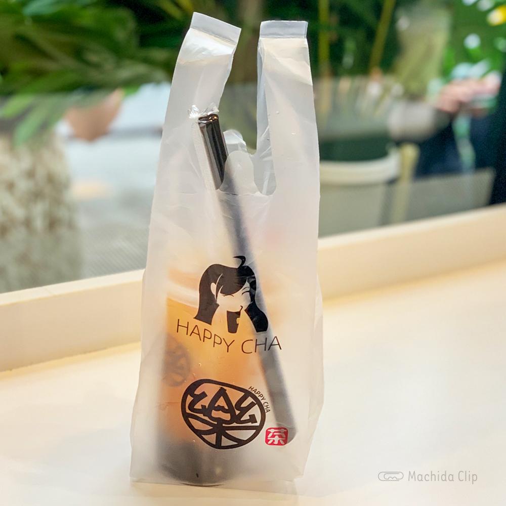 楽茶 HAPPYCHA 町田店のタピオカドリンクテイクアウトの写真