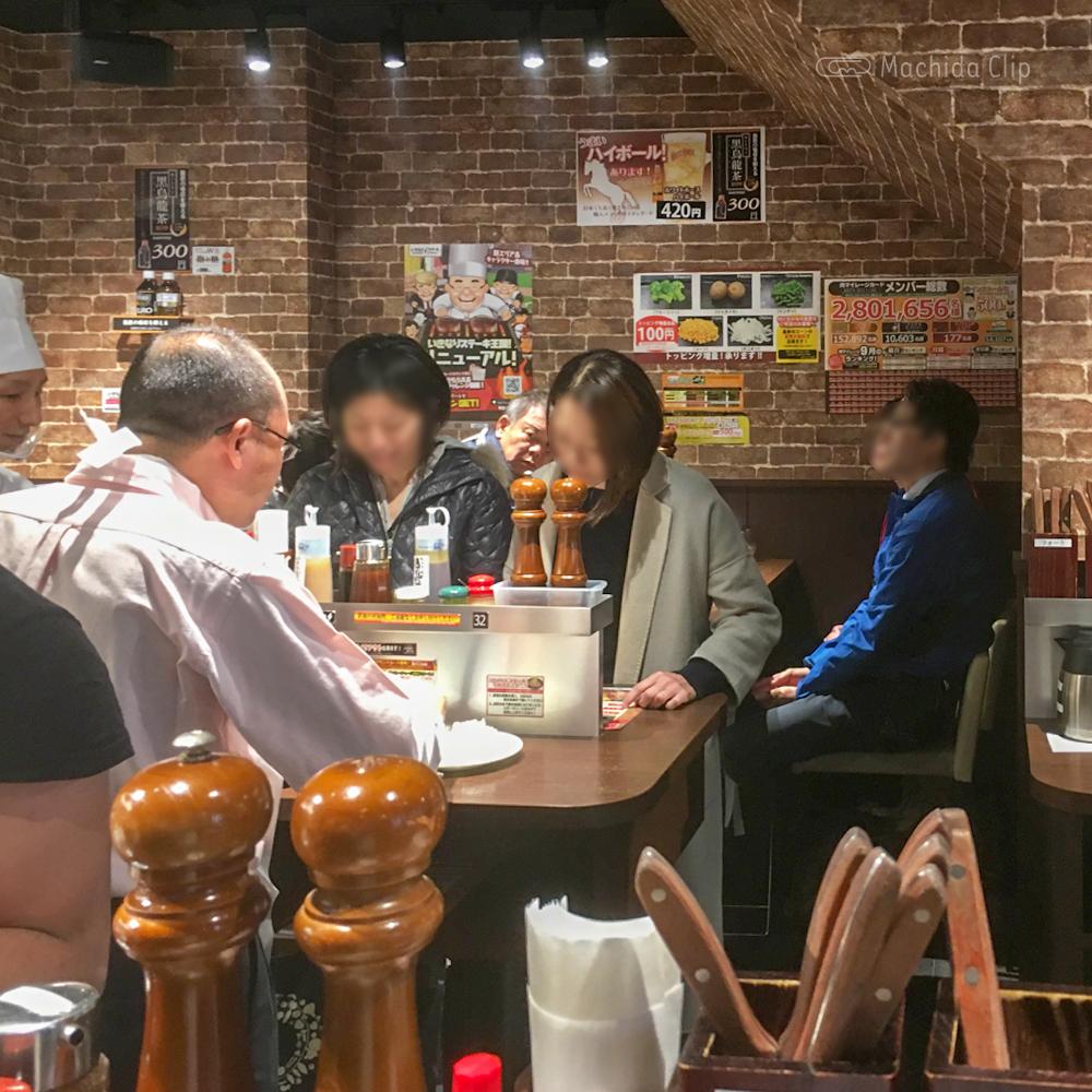 いきなりステーキ 町田店の店内の写真