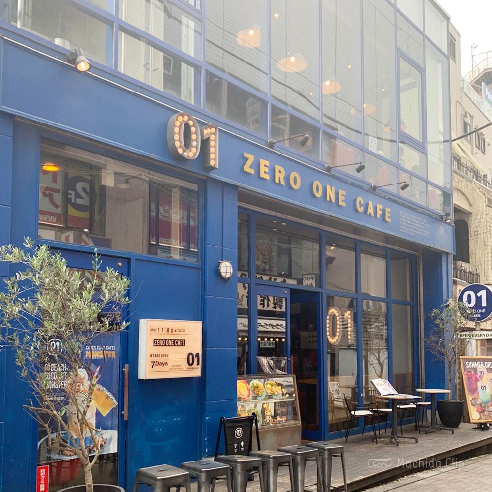 ゼロワンカフェの外観の写真