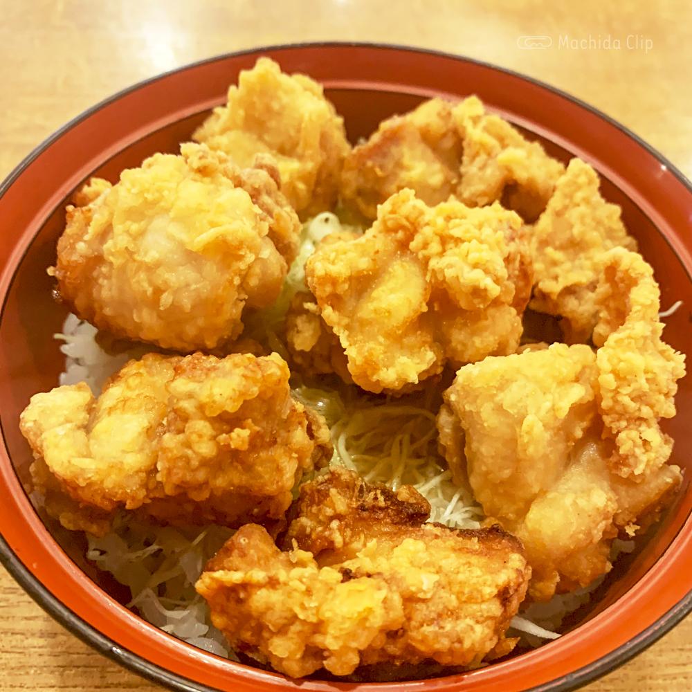 はねあげ 町田本店の唐揚丼の写真
