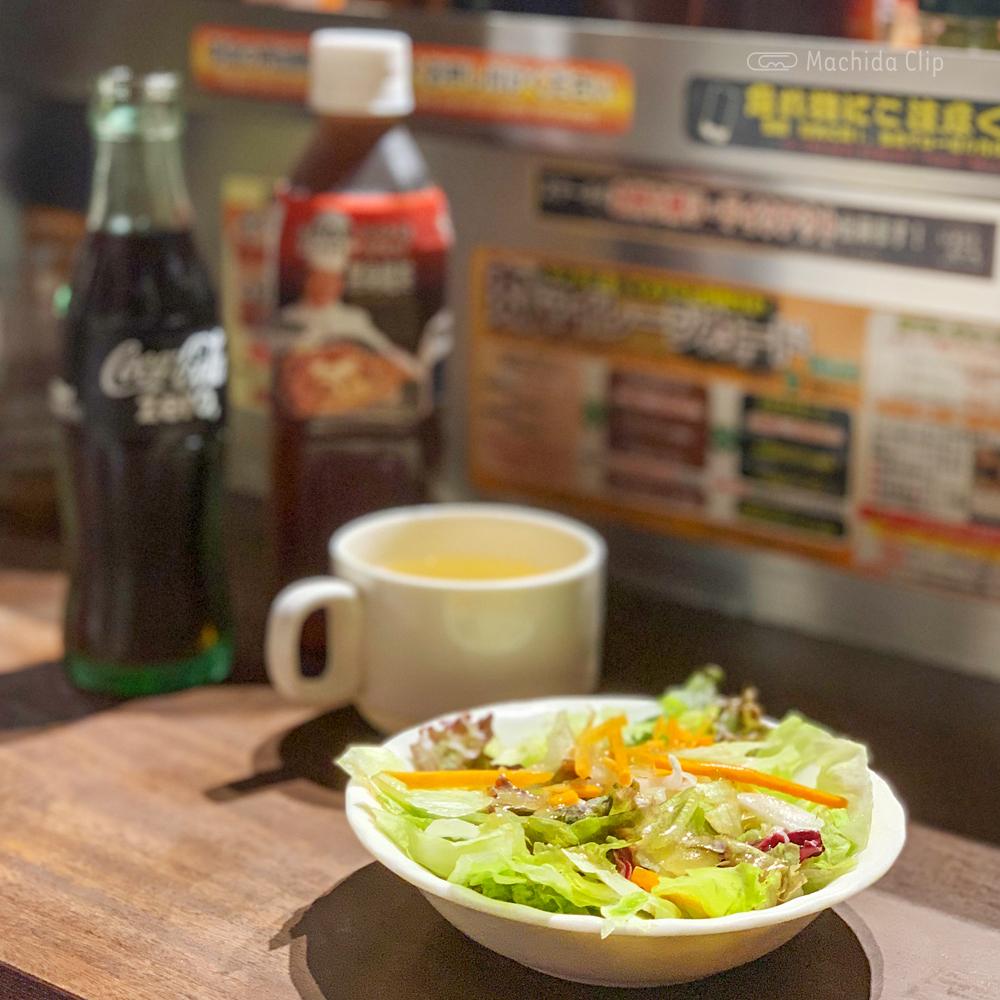 いきなりステーキ 町田店のサラダの写真