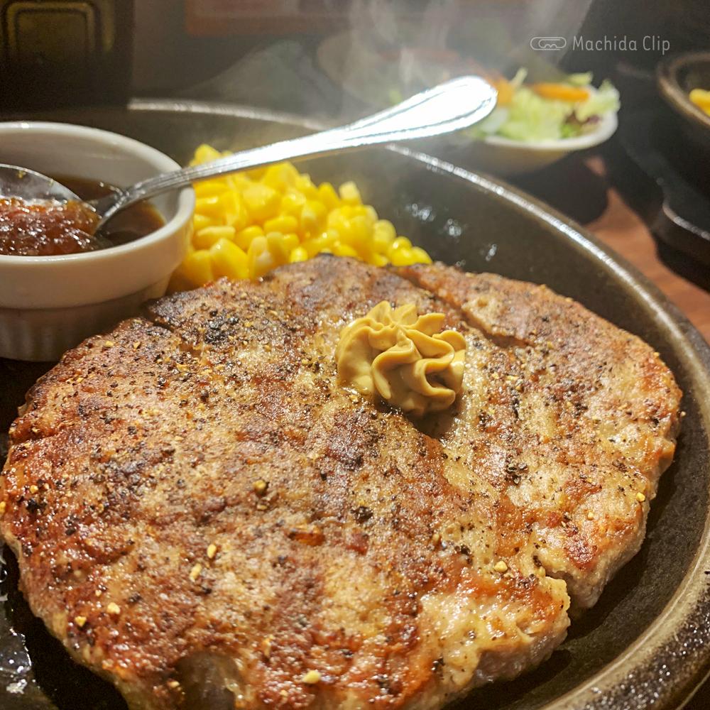 いきなりステーキ 町田店のワイルドハンバーグの写真