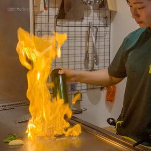 【閉店】こがも亭 町田 鉄板焼きステーキランチが1,000円!高級感あるランプ肉がいただけるの写真