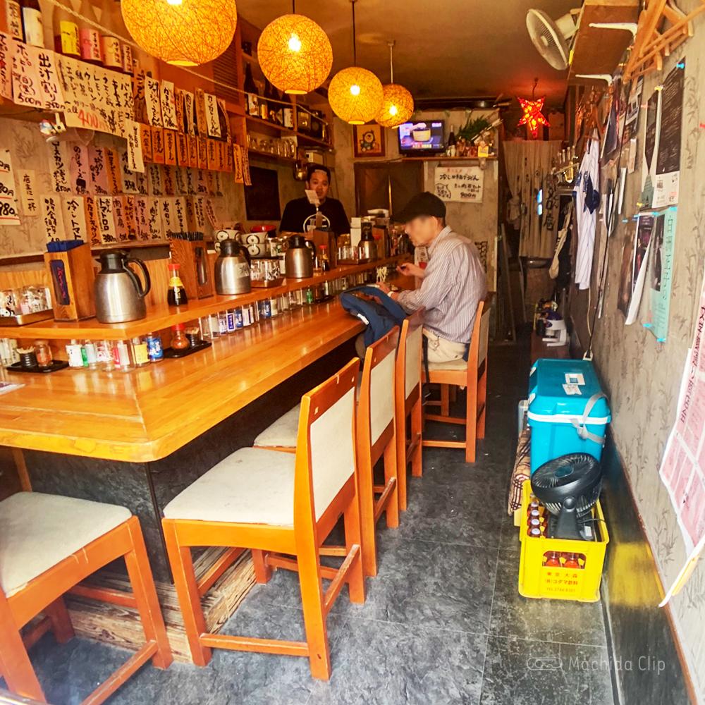 純手打ちうどん町田タロー庵の店内の写真
