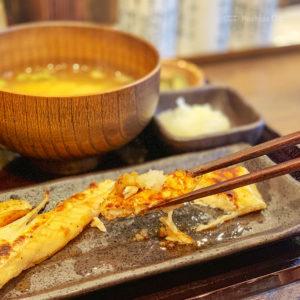 しんぱち食堂 町田店のサーモンハラス干し定食の写真