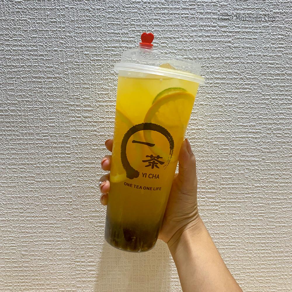 一茶(イッチャ)町田店のタピオカドリンクの写真