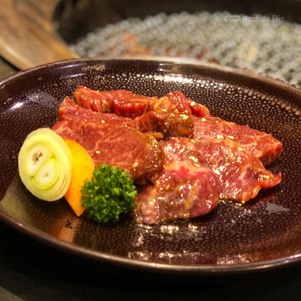 焼肉志も川 町田駅前店の上ハラミランチの写真