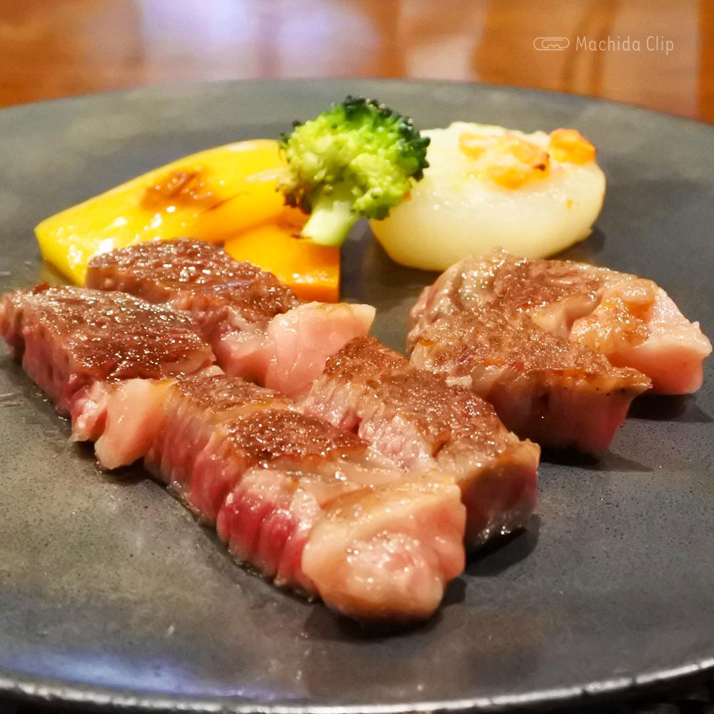 鉄板 たかはしのステーキの写真