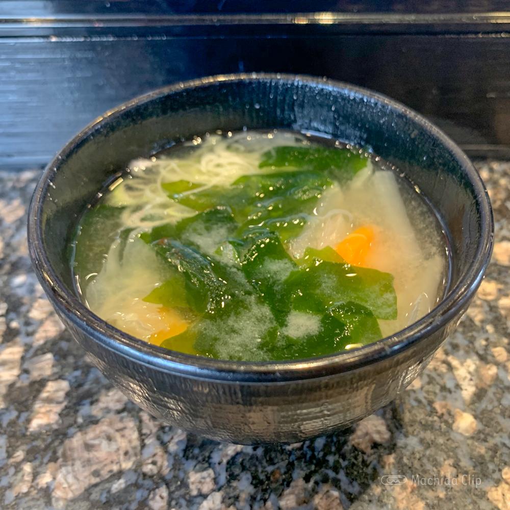魚屋路 町田中央店の味噌汁の写真