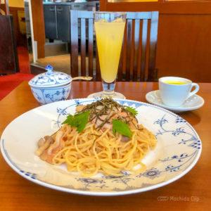 椿屋カフェ町田東急ツインズ店 ランチセットがお得な喫茶店 ケーキと珈琲が美味しいちょっぴり贅沢カフェの写真