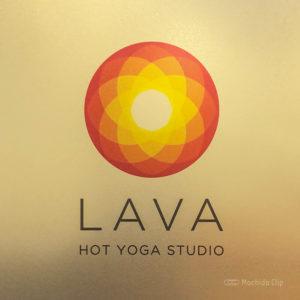 ホットヨガスタジオLAVA 町田店の看板の写真