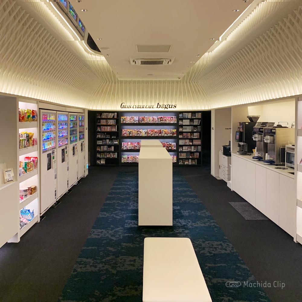 バグース 町田店の店内の写真