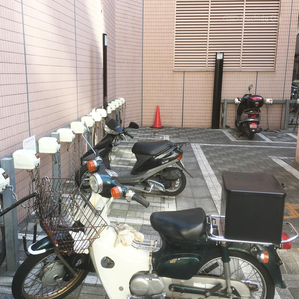 駐輪場の写真