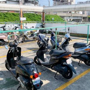 町田駅の駐輪場 無料or安くバイクが駐車できる場所を紹介!の写真