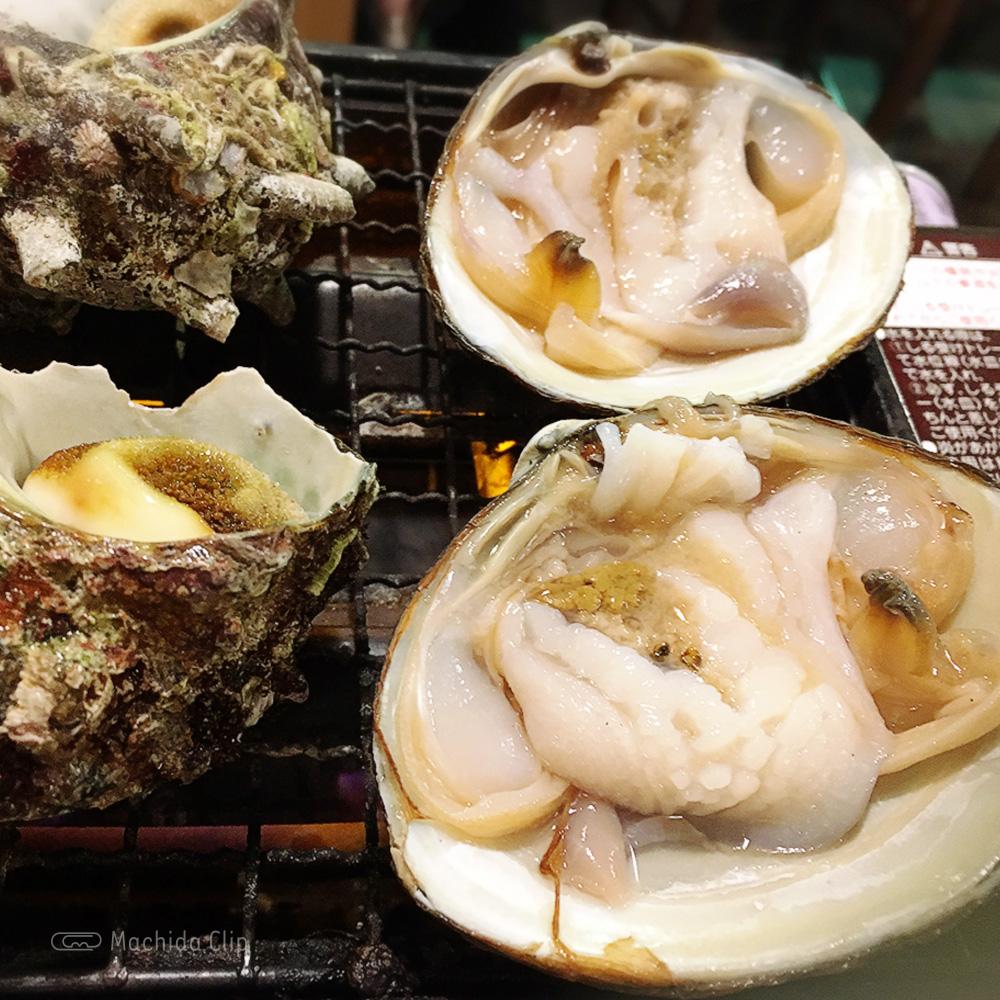 磯丸水産町田2号店の海鮮焼きの写真