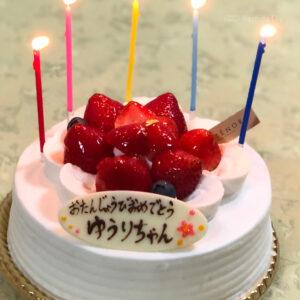 アンテノールのケーキの写真